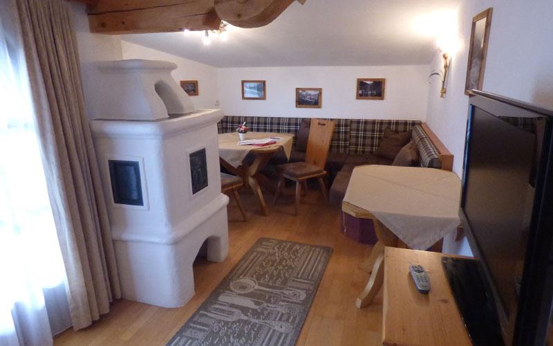 Wohnbereich Appartement 1