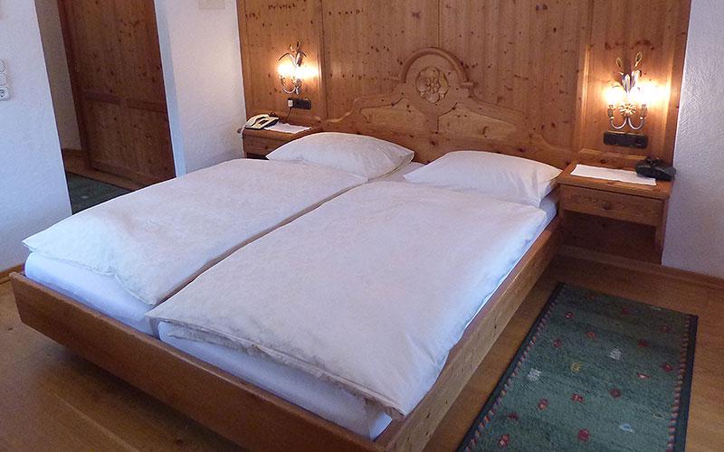 Schlafzimmer Appartement 3