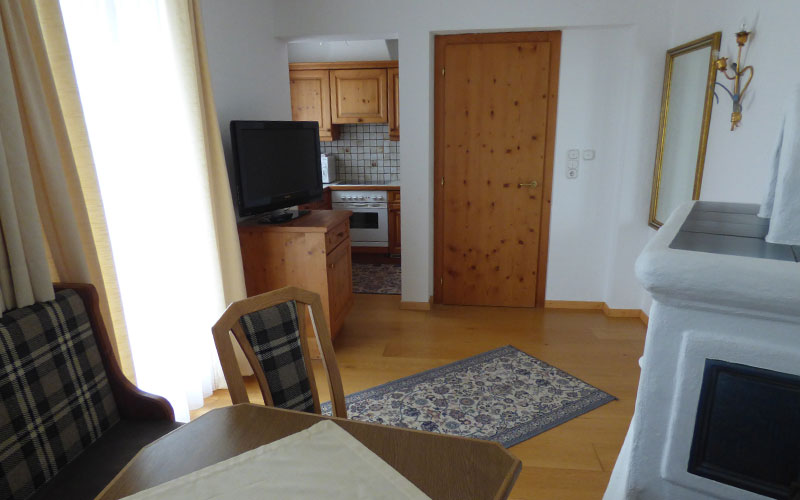 Wohnbereich Appartement 4
